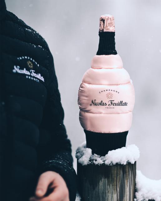 Réserve Exclusive Rosé et sa Doudoune